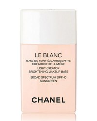 Chanel Le Blanc Light Creator Brightening Makeup Base Broad Spectrum Spf 40 Sunscreen 1.0 Oz. 10 Rosee