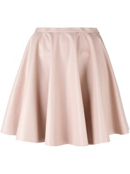 Giamba A Line Short Skirt Pink And Purple