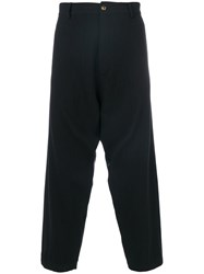 Societe Anonyme Sauvage Trousers Unisex Wool M Black