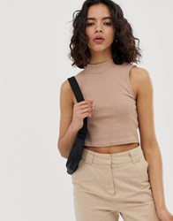 Native Youth Racer Top Brown