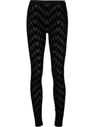 Gareth Pugh Woven Leggings Black