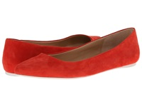 Joe's Jeans Kitty Iii Crimson Red Women's Flat Shoes