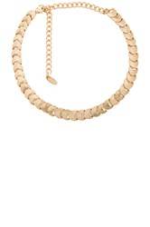Ettika Beaded Choker Metallic Gold