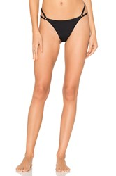 Alexander Wang Cut Out Bikini Bottom Black