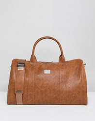 Peter Werth Tully Texture Holdall Tan