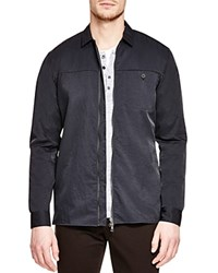 Vince Nylon Twill Jacket Coastal