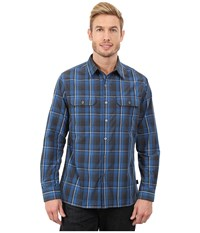 Kuhl Response L S Pirate Blue Men's Long Sleeve Button Up