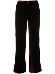 F.R.S For Restless Sleepers Bordo Trousers Red