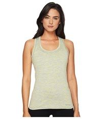 Marmot Elana Tank Top Bright Steel Women's Sleeveless White
