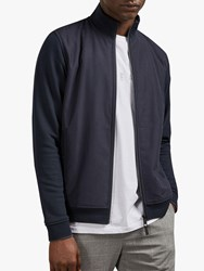 Ted Baker Dandye Funnel Neck Jacket Navy
