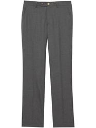 Burberry Tailored Trousers Grey