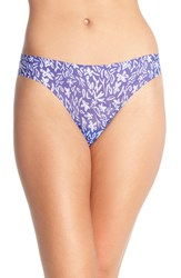 Women's Halogen No Show Mesh Thong 3 For 33