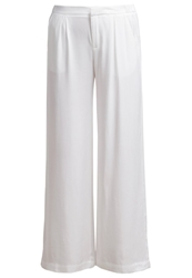 Mbym Malle Trousers Sugar White
