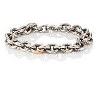 Title Of Work Cable Chain Bracelet Silver