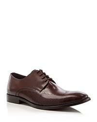 Kenneth Cole Winning Ticket Wingtip Oxfords Brown