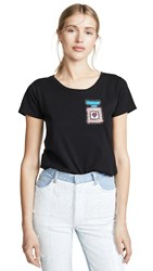 Michaela Buerger Perfume Bottle Tee Black Multi