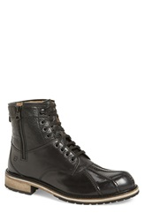 Andrew Marc New York 'Rutland' Boot Men Black Asphalt Leather