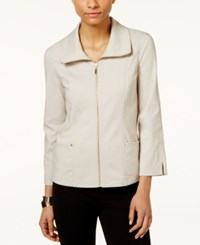 Jm Collection Zip Front Jacket Only At Macy's Stonewall