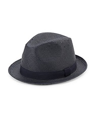 Saks Fifth Avenue Woven Paper Straw Fedora