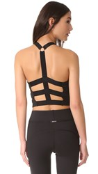 Michi Matrix Bustier Top Black