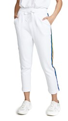 Chinti And Parker Dreamer Sweatpants White