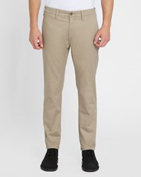 Levi's Beige 511 Slim Fit Chinos
