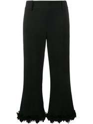 Creatures Of The Wind Fringed Flared Trousers Black