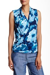 Tommy Bahama Marymere Flowers Tank Blue