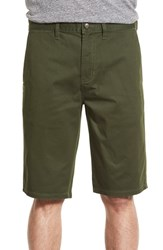 Men's Element 'Howland' Stretch Cotton Twill Shorts Olive Green