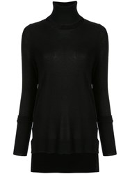 Kitx Turtle Neck Fitted Sweater Black