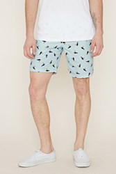 Forever 21 Toucan Print Swim Trunks