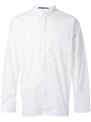 Isabel Benenato Plain Shirt White