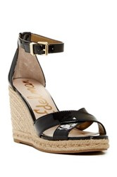 Sam Edelman Brenda Wedge Sandal Black