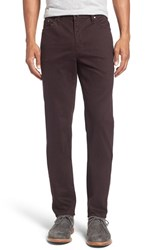 Ted Baker Men's Big And Tall London Print Slim Fit Trouser Jeans Dark Red