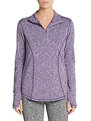 Saks Fifth Avenue Space Dye Stretch Knit Top