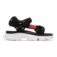 Givenchy Black Jaw Sandals