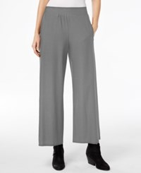 Eileen Fisher Washable Crepe Wide Leg Ankle Pants