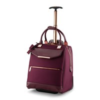 Ted Baker Albany Softside 2 Wheel Business Bag Burgundy