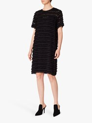 Paul Smith Ps Fray Edge Tunic Dress Black