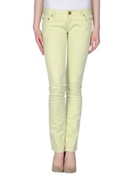 Atelier Fixdesign Casual Pants Acid Green