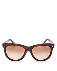 Marc Jacobs Wayfarer Sunglasses 54Mm Havana Brown Gradient