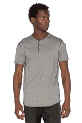 Reigning Champ S S Henley Charcoal