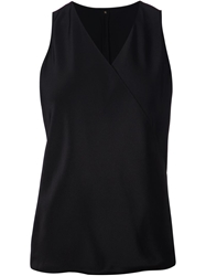 Peter Cohen V Neck Tank Top Black