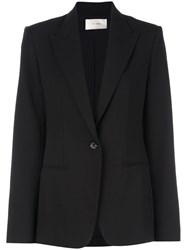 The Row Single Breasted Blazer Black