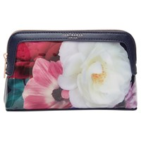 Ted Baker Mayree Blushing Bouquet Makeup Bag Navy