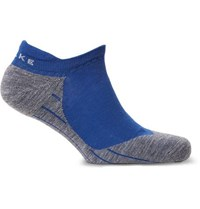 Falke Ergonomic Sport System Ru4 Stretch Knit No Show Socks Blue