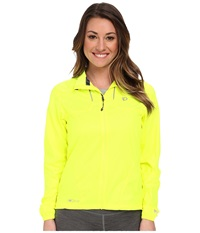 Pearl Izumi Elite Barrier Jacket Screaming Yellow Women's Workout