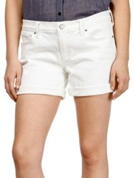 Lucky Brand Classic Roll Up Shorts Clean White