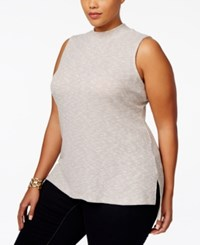 Styleandco. Style And Co. Plus Size Sleeveless Space Dyed Top Only At Macy's