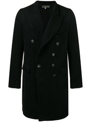 Di Liborio Double Breasted Coat Black
